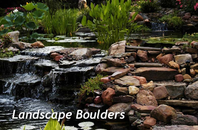 Landscape boulders for Landscaping rocks merced ca